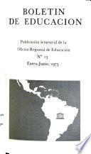Boletín de educación