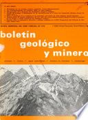 Boletín de la Comisión del Mapa Geológico de España