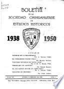 Boletín de la Sociedad Chihuahuense de Estudios Históricos