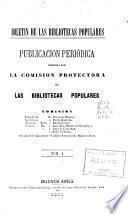 Boletin de las Bibliotecas Populares; Publicacion Periódica