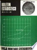 Boletín estadístico - Consejo Monetario Centroamericano