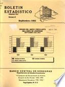 Boletín estadístico