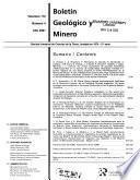 Boletín geológico y minero