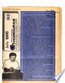 Boletín informativo Honduras