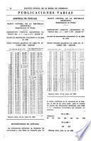 Boletin oficial de la Bolsa de comercio de Buenos Aires