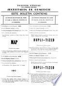 Boletín oficial de la Secretaría de Agricultura, Comercio y Trabajo