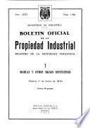BOLETÍN OFICIAL PROPIEDAD INDUSTRIAL NÚMERO 1986 1 DE ENERO DE 1970