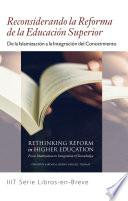 Books-in-Brief: Rethinking Reform in Higher Education (Spanish - Peninsular European Language)