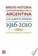 Breve historia contemporánea de la Argentina