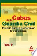 Cabos de la Guardia Civil. Temario. Volumen Ii Ebook