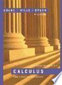 Calculus de una y varias variables I