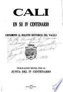 Cali en su IV centenario