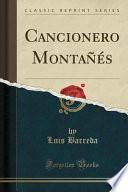 Cancionero Montañés (Classic Reprint)