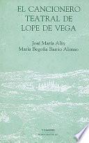 Cancionero teatral de Lope de Vega