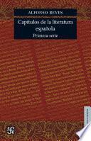 Capítulos de literatura española