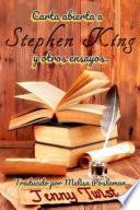 Carta abierta a Stephen King y otros ensayos.