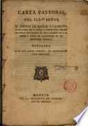 Carta pastoral del Ilmo. Sr. D. Andres de Aguiar y Caamaño... Obispo de Mondoñedo...