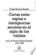 Cartas entre espias e inteligencias secretas en el siglo de los validos