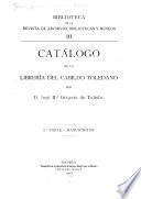 Catálogo de la librería del Cabildo toledano