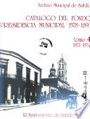 Catálogo del fondo presidencia municipal