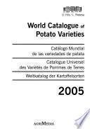 Catalogue Universel Des Variétés de Pommes de Terres