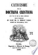 Catecisme de la doctrina cristiana