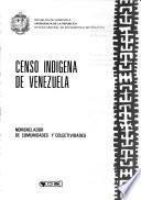 Censo indígena de Venezuela