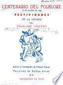 Centenario del Folklore, 22 de agosto de 1946