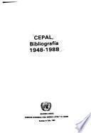 CEPAL, bibliografía 1948-1988