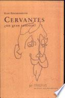 Cervantes, un gran satirico?