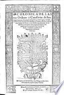 Chronica de las tres ordenes y cauallerias de Santiago, Calatraua y Alcantara