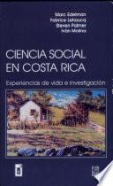 Ciencia social en Costa Rica