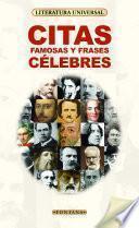 Citas famosas y frases célebres