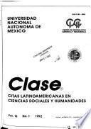 Citas latinoamericanas en ciencias sociales y humanidades