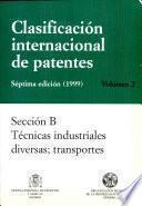 Clasificación internacional de patentes