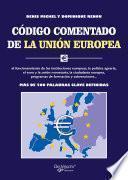 Código comentado de la Unión Europea