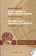 Cohesión social en Europa y las Américas