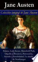 Colección integral de Jane Austen (Emma, Lady Susan, Mansfield Park, Orgullo y Prejuicio, Persuasión, Sentido y Sensibilidad)