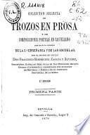 Colección selecta de trozos en prosa y de composiciones poética en castellano
