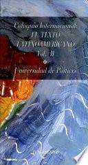 Coloquio Internacional El Texto Latinoamericano