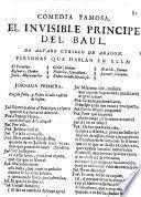 Comedia famosa: El invisible Principe del Baul