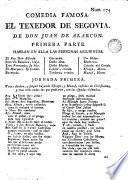 Comedia famosa, El Texedor de Segovia