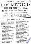 Comedia famosa: Los Medicis de Florencia