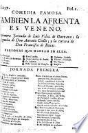 Comedia famosa. También la Afrenta es Veneno. La primera jornada de Luis Vélez de Guevara; la segunda de Don Antonio Coello; y la tercera de Don Francisco de Roxas