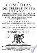 Comedias de Pedro Calderón de la Barca, 10