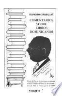 Comentarios sobre libros dominicanos