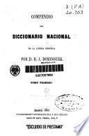 Compendio del diccionario nacional de la lengua española: vol. 2