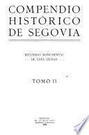 Compendio historico de Segovia
