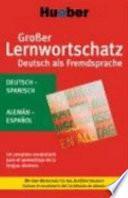 Completo vocabulario para el aprendizaje de la lengua alemana