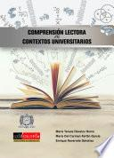 Comprensión lectora en contextos universitarios